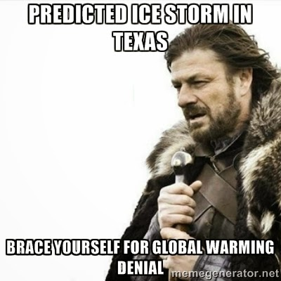 brace yourself global warming